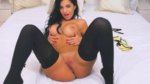 Huge Boobs And Pussy In Action